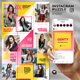 Genty - Social Media Instagram Puzzle Feed - GraphicRiver Item for Sale