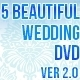 5 Beautiful Wedding DVD Ver 2.0 - GraphicRiver Item for Sale