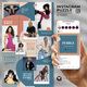 Pebble - Social Media Instagram Puzzle Feed - GraphicRiver Item for Sale