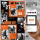 Orange - Social Media Instagram Puzzle Feed - GraphicRiver Item for Sale