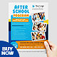 Printable After School Flyer Template - GraphicRiver Item for Sale