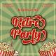 Retro Party - Display Retro Font - GraphicRiver Item for Sale