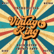Vintage King - Retro Groovy Font - GraphicRiver Item for Sale