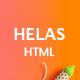Helas – Multipurpose Minimal HTML Template - ThemeForest Item for Sale