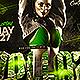 Dollaz Hip Hop Party Flyer - GraphicRiver Item for Sale
