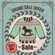 Vintage Winter Sale Discount Flyer Template - GraphicRiver Item for Sale