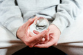 Man hands holding a crystal ball - PhotoDune Item for Sale