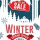 Winter Sale Discount Poster Design - GraphicRiver Item for Sale