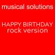 Happy Birthday Rock Version
