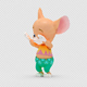 Cartoon Mouse with Dancing Hiphop - VideoHive Item for Sale