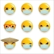 Virus Protection Medical Mask Emoticon Smiley - GraphicRiver Item for Sale