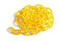 Yellow Plastic Chain - PhotoDune Item for Sale