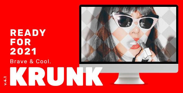 Krunk - Brave & Cool WordPress Blog Theme