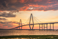 Charleston, South Carolina, USA at Arthur Ravenel Jr. Bridge - PhotoDune Item for Sale