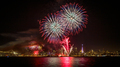 San Francisco New Year's Eve Fireworks with City Skyline - PhotoDune Item for Sale