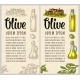 Vertical Template for Olive Oil - GraphicRiver Item for Sale