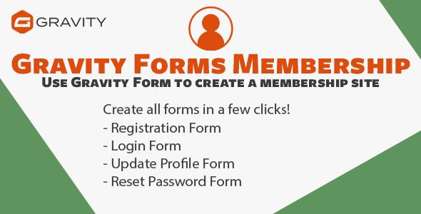 Gravity Forms Membership