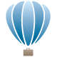 Hot Air Balloon Briefcase Logo - GraphicRiver Item for Sale