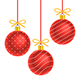 Christmas balls background - GraphicRiver Item for Sale