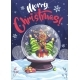 Merry Christmas Vector Illustration Funny Cartoon - GraphicRiver Item for Sale
