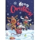 Merry Christmas Funny Deer, Bull, Mouse - GraphicRiver Item for Sale