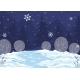 Vector Horizontal Illustration Winter Night - GraphicRiver Item for Sale