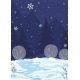 Vector Background Illustration Winter Night - GraphicRiver Item for Sale