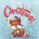 Vector Background Illustration Marry Christmas - GraphicRiver Item for Sale