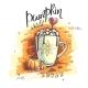 Vector Illustration Pumpkin World. A Mug with - GraphicRiver Item for Sale