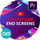 YouTube End Screens Vol.2 | Premiere Pro MOGRT - VideoHive Item for Sale