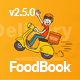 FoodBook | Online Food Ordering System for WordPress with One-Click Order Printing