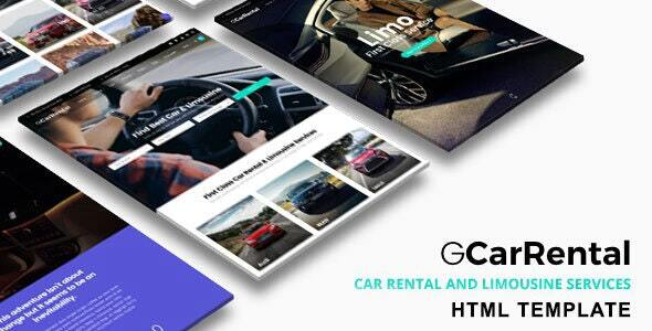 Grand Car Rental | Limousine HTML Template