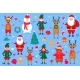 Christmas and New Year's Cartoon Characters - GraphicRiver Item for Sale