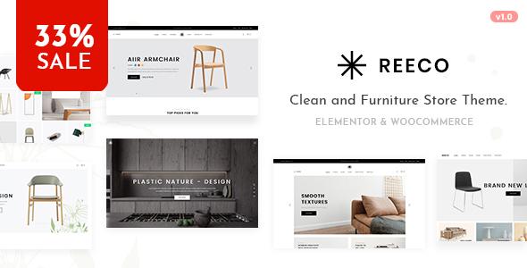 Reeco - Furniture WooCommerce WordPress Theme