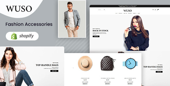 Download Wuso – Fashion Responsive Shopify Theme Nulled