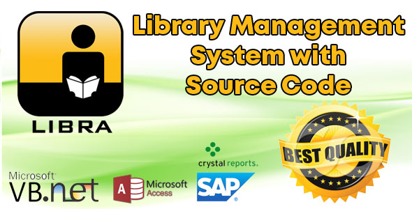 Library Management System with VB.Net Source Code
