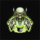Crazy Monster Doctor Vector Illustration - GraphicRiver Item for Sale