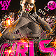 Girls in the Hood Hip Hop Party Flyer - GraphicRiver Item for Sale