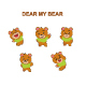 Bear Cartoon Illustration - GraphicRiver Item for Sale