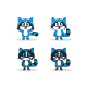 Cartoon Racoon Illustration - GraphicRiver Item for Sale
