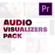 Audio Visualizers Pack for Premiere Pro - VideoHive Item for Sale