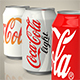 Coca cola can set - 3DOcean Item for Sale