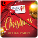 Christmas Office Party Flyer Template - GraphicRiver Item for Sale