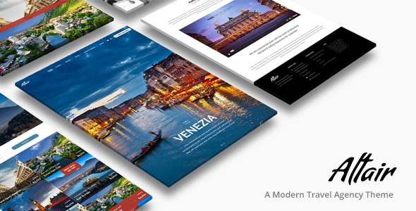 Altair | Travel Agency WordPress