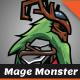 Forest Mage Monster Sprites - GraphicRiver Item for Sale
