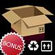 Cardboard Boxes + Bonus Icons - GraphicRiver Item for Sale