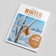 Winter Magazine Template - GraphicRiver Item for Sale