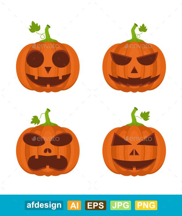 Halloween Pumpkin Expressions