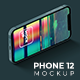 Phone 12 Isometric Mockup - GraphicRiver Item for Sale
