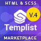 Templist – HTML5 Digital Marketplace Template - ThemeForest Item for Sale